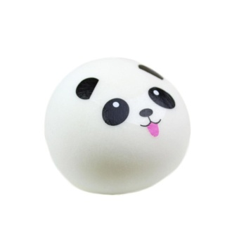 Cute Soft Panda Squishy Kawaii Buns Bread (M) - intl