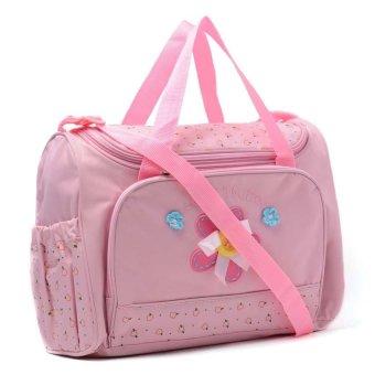 Cutie Beautiful Mornings Diaper Bag (Dark Pink) - picture 2