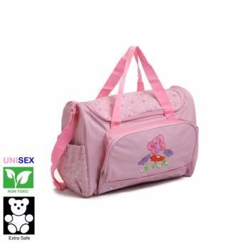 Cutie Beautiful Mornings Diaper Bag (Link Pink)