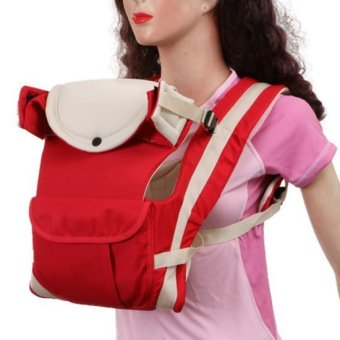 Cutie Safe and Soft Baby Carrier (Red)
