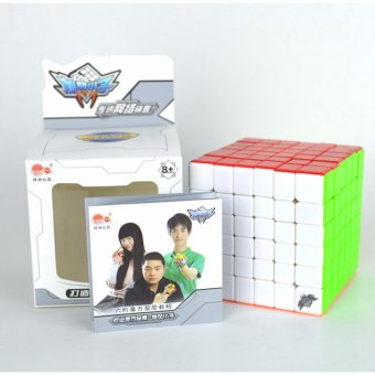 Cyclone Boys Rubix 6x6x6 Magic Cubes Stickerless Speed Cube PuzzleTwist - intl - 5