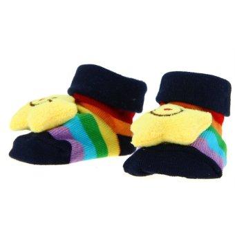 DHS Baby Anti-Slip Socks (Multicolor) (Intl) - picture 2
