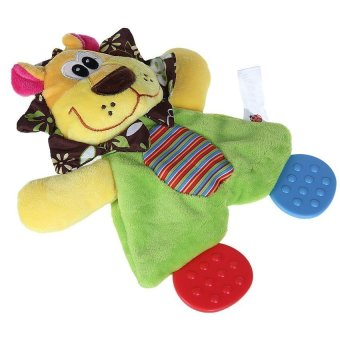 DHS Child Baby Lion Style Comfort Blanket Handkerchief Towel Soft Toy - Intl - picture 2