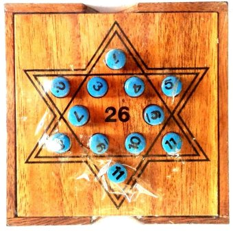 Dilemma Games Wooden 26 puzzle