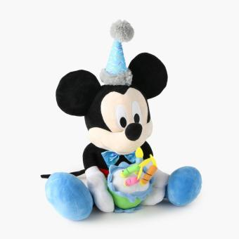 Disney Birthday Mickey Mouse 18in. Plush Stuffed Toy