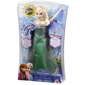 Disney Princess Frozen Fever Singing Elsa