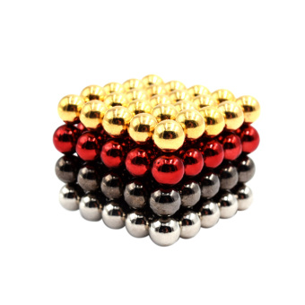 DIY 5 mm NdFeB Magnetic Puzzle Magic Beads Balls Spheres Educational Toy 100 Pieces