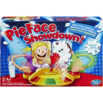 Double Pie Face Showdown Funny Game