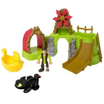 DreamWorks How To Train Your Dragon 2 - Berk Island Bathset