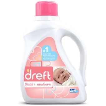 Dreft Newborn Liquid Detergent 50oz (Stage 1)