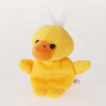 Duck Hand Finger Puppet (Yellow)