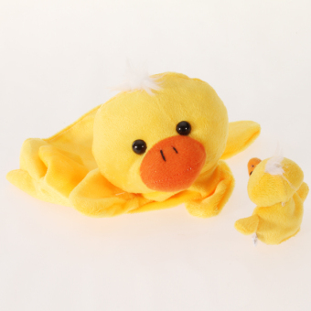 Duck Hand Finger Puppet (Yellow) - picture 2