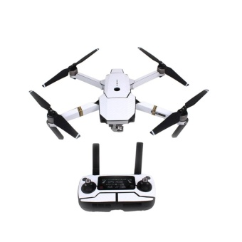 Eason Waterproof Carbon Fiber Stickers RC Aircraft Skin Decals Wrapfor DJI Mavic Pro Drone,White Hot Sale - intl Price Philippines