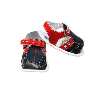Enfant Baby Boy Sandals (Red/Blue)