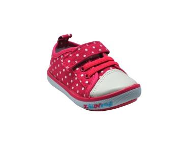 Enfant Girl Shoes (Dark Pink)
