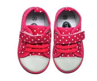 Enfant Girl Shoes (Dark Pink) - picture 2