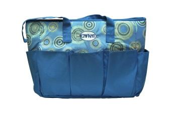 Enfant Mama Diaper Bag (Blue)