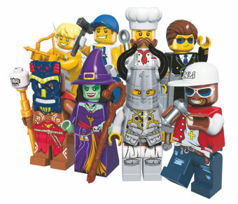 ENLIGHTEN 1502b KNIGHT people chef assembled building blocks pumping music