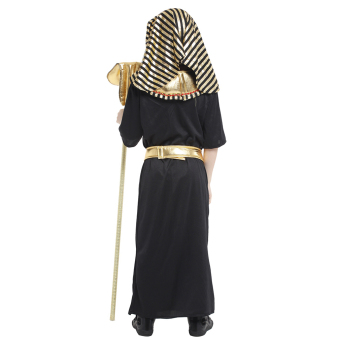 EOZY Boys Halloween Costumes Ancient Egypt Egyptian Pharaoh Cosplay Kids Photography Stage Performance Clothing -L - 5