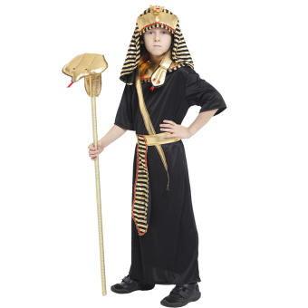 EOZY Boys Halloween Costumes Ancient Egypt Egyptian Pharaoh Cosplay Kids Photography Stage Performance Clothing -L - 3