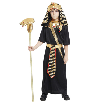EOZY Boys Halloween Costumes Ancient Egypt Egyptian Pharaoh Cosplay Kids Photography Stage Performance Clothing -L - 4
