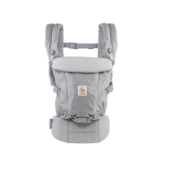 Ergobaby Adapt Award Winning Ergonomic Multi-Position Baby Carrier,Newborn to Toddler, Pearl Grey - intl