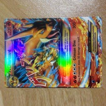 Fancyqube 18pcs/lot Pokemon card Pokemon card Pokemon MEGA EX flashcards - 3