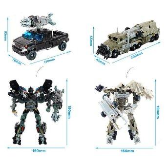 Fancytoy DIY Transformers Robots Optimus Builing Toy AssemblingBeast - 2