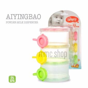 Fashion Milk Powder Dispenser Portable Snacks Storage Container -4084