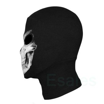 FD Cosplay Skull Balaclava Ghost Mask Hood Face Biker CS Halloween - 2