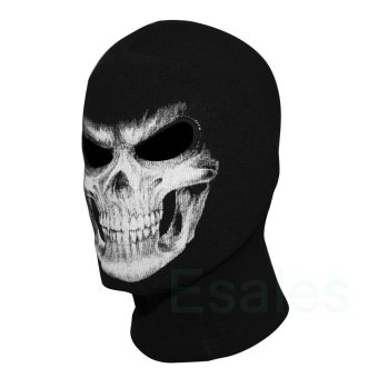 FD Cosplay Skull Balaclava Ghost Mask Hood Face Biker CS Halloween - 3