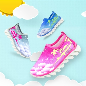 Female spring and non-slip children's sports shoes New style children's shoes