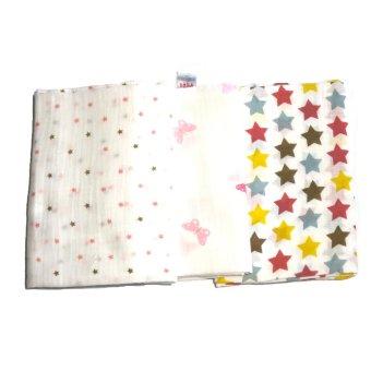 Feo en Rafa Muslin Swaddle (Stars/Butterfly) Bundle of 6 - picture 2
