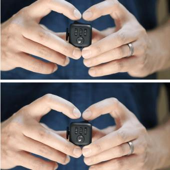 Fidget Cube for Stress and Anxiety (Black) - 3