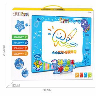 FIREWORK 4PCS/Set Kids Water Drawing Writing Learning Mat Toy-intl - 4