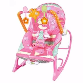 Fisher-Price Infant To Toddler Butterfly Baby Rocker(Pink)