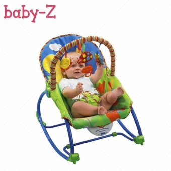 Fisher Price Infant to Toddler Rocker #3334 (Blue)