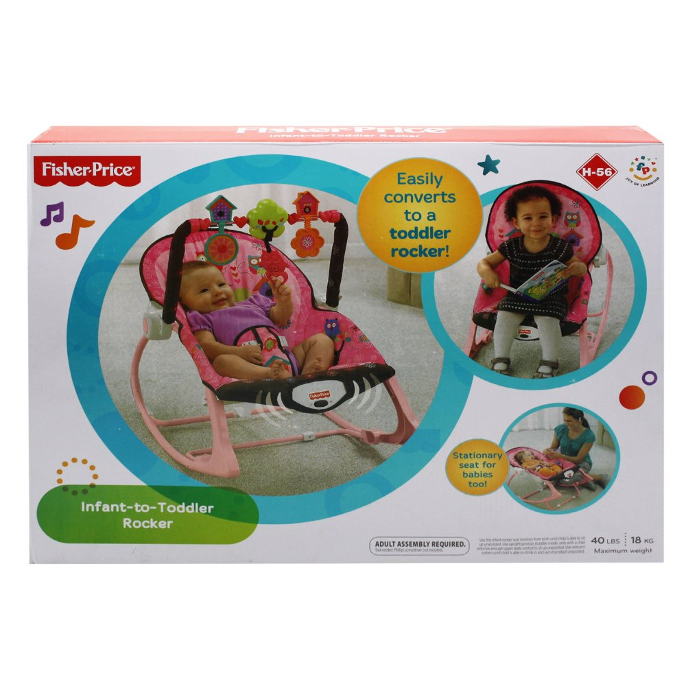 Philippines Fisher Price Infant To Toddler Rocker H 56 Pink Owl
