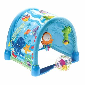 Fisher-Price New Ocean Wonders Kick and Crawl Gym - picture 2