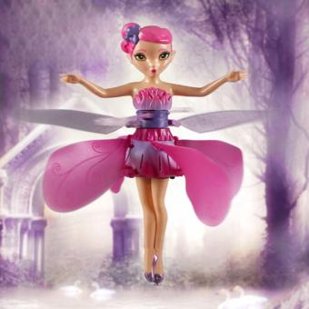Flying Fairy Doll Hand Infrared Induction Control Dolls Child FlyToy Gift Induction fairies flying fairy toys for girls Gift - intl - 3