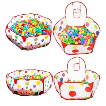 Foldable Baby Play Game Ball Pit Polka-Dots Baby Tent MarineBallpool Baby Educational Toy Indoor ...  sc 1 th 225 & Philippines | Foldable Baby Play Game Ball Pit Polka-Dots Baby ...