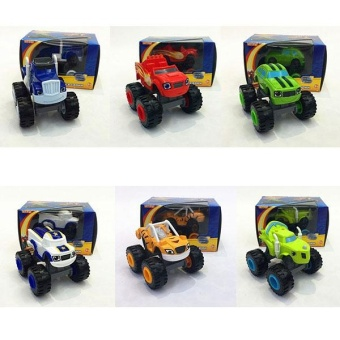 For you Kids Baby Blaze And The Monster Machines Vehicles Diecast Car Toys Good Gifts - intl - 4