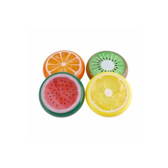 Fruity Round Slime putty transparent goo Clay Educational toys forKids SET OF 2 - 2