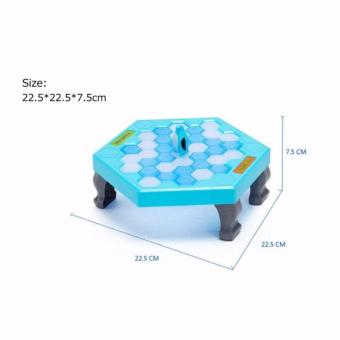 Funny Game Penguin Trap Activate (SkyBlue) - 4
