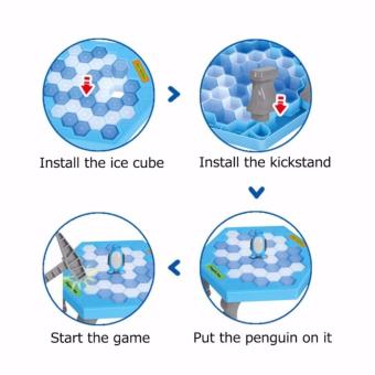 Funny Game Penguin Trap Activate (SkyBlue) - 5