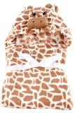 Giraffe Hooded Blanket (Brown) - thumbnail 1