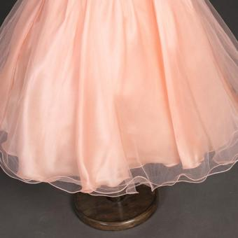 Girls Birthday Dress Cute Sequin Sleeveless Vest Princess LaceDress 10 color Baby Dresses For Girls Vestido - 4