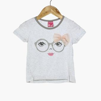 Girls Edition Girls Pretty Eyes Hi-lo Tee (Gray) Price Philippines