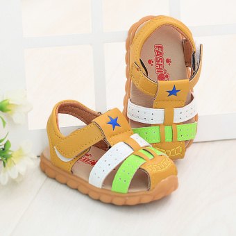 Gum outsole anti-function sandals Baobao sandals