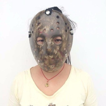 Halloween cosplay costume Porous Mask Jason Voorhees Friday The13th Horror Movie Hockey Mask black - intl